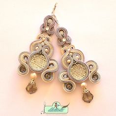 Hey, I found this really awesome Etsy listing at https://www.etsy.com/listing/225922600/soutache-earrings-swarovski-crystal