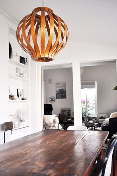 my scandinavian home: A dining space with a personal touch