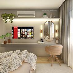 Living Room Tv Unit Designs, Teen Bedroom Designs, Room Design Bedroom, Bedroom Layouts, Room Ideas Bedroom, Small Room Bedroom, Bedroom Styles, Home Decor Bedroom, Stylish Bedroom