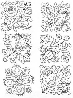 Marvelous Crewel Embroidery Long Short Soft Shading In Colors Ideas. Enchanting Crewel Embroidery Long Short Soft Shading In Colors Ideas. Mexican Embroidery, Hungarian Embroidery, Hardanger Embroidery, Brazilian Embroidery, Learn Embroidery, Crewel Embroidery, Hand Embroidery Patterns, Embroidery Designs, Embroidery Supplies