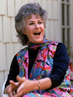 Bea Arthur  Grandmas are the best. Earthy, profane, hilarious grandmas especially. We miss you, Bea.