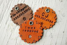 15 of the Coolest Handmade Dog Tags You'll Find on the Whole Internet