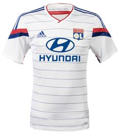 Olympique Lyonnais 2014-15 adidas Home