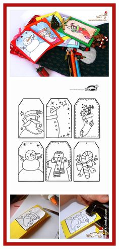 children activities, more than 2000 coloring pages Christmas Gift Tags, Coloring Pages, Activities For Kids, Creations, Boxes, Crafts, Quote Coloring Pages, Crates, Manualidades