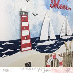 """Tag am Meer Die Sommerferien stehen vor der Tür und was gibt es schöneres als einen Tag am Meer. Das neue Sommerfenster-Kit und die Leuchttürme haben mich dazu inspiriert, eine Karte """"Tag am Meer"""" mit vielen verschiedenen Stanzen und Papieren zu gestalten. ...weiter gehts auf dem Blog ;o) #charlieundpaulchen #scrapbooking #happy #instagood #cardmaking #diycards #cardmakingideas #paperlove #cardsofinstagram #cardmaking #handmade #paperaddict @Steffi Laemmel Rambler Rose, Kids Rugs, Tags, Scrapbooking, Kit, Blog, Home Decor, Yellow Chairs, Distress Wood"""