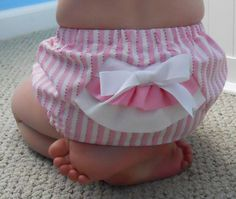 SALE Bustles and Ruffles Sweet Bottoms Diaper by sweetsmilesbaby, $20.00