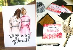 How To Ask Your Bridesmaids, Bridesmaids And Groomsmen, Our Wedding, Dream Wedding, Wedding Stuff, Wedding Ideas, Bridesman, Maid Of Honor, Wedding Planning