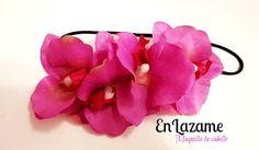 vincha elástica de orquideas wsp: 966398054
