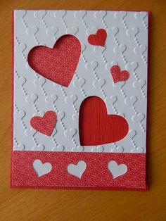 Dianne's cards- SU die cut hearts