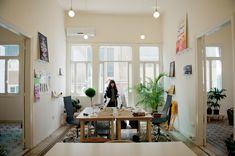 Freunde von Freunden — Maya Mounme & Hatem Imam — Graphic Designer & Furniture Restaurators, Apartment & Studio, Malla, Beirut — http://www....