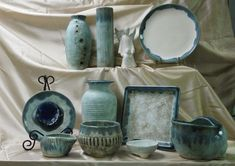 McCarty Pottery Jade with glaze