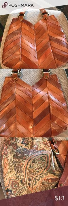 Lucky Brand Purse Love this purse.So cute.Good condition.Lining perfect Lucky Brand Bags Totes