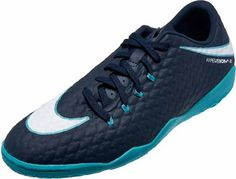 Nike HypervenomX Phelon III indoor soccer shoes. Ice pack. Buy yours from SoccerPro.