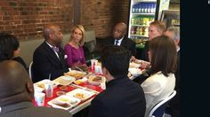 "Can the racial divide be bridged with a meal? That's the very simple idea behind an initiative started by Sens. Tim Scott of South Carolina and James Lankford of Oklahoma: ""Solution Sundays."""