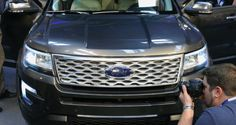 2016 Ford Explorer Revealed With New Engines, Fresh Styling and Platinum Range-Topper