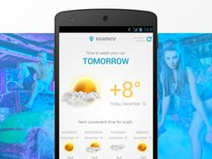 Car Wash Weather App by dimentesi