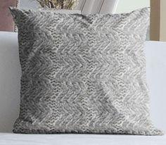 Aran Wiggle Cushion newly listed on #folksy #interiors #irish #design #knitting #knit