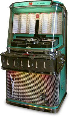 Jukebox London :: AMI model 'I 200M' of 1958