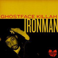 A Redesign. Ghostface Killah - Ironman (Wu-Note, Created by Logan Walters) Ghostface Killah Ironman, Wu Tang Album, Wutang, Cool Album Covers, Hip Hop Albums, Wu Tang Clan, Love N Hip Hop, Great Albums, Lp Cover