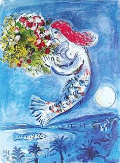 MARC CHAGALL BAY OF ANGELS LIMITED ED. SMALL GICLÉE : Lot 1171T