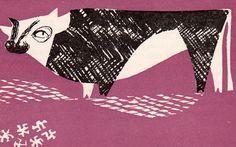 In the shop ..... Polish Cookbook  by Zofia Czerny, illustrated by Czeslaw Wielhorski (1961).