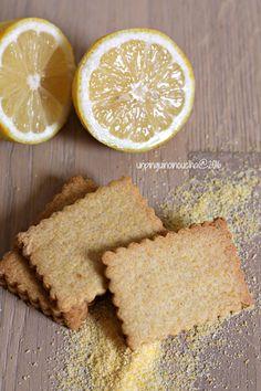 Corn and Lemon Cookies - Biscotti al mais e limone   Un Pinguino in cucina