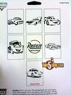 Cars Stencils