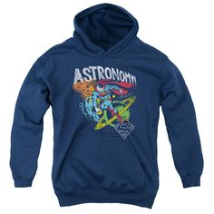 Superman: Astronomy Youth Hoodie