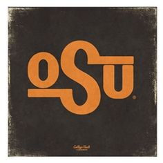Vintage OSU Brand Canvas