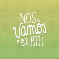 Logo para videoblog de viajes Nos vamos por ahi #nosvamosporahi Encuentra más inspiración para tus escapadas en www.escapadarural.com