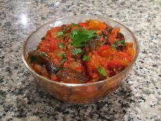 Gourmandises végétariennes: Aubergine