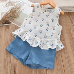 Brand Name: ToysZoom Department Name: Children Item Type: Sets Sleeve Style: Regular Baby Girl Dress Patterns, Baby Dress Design, Frock Design, Little Girl Outfits, Kids Outfits Girls, Toddler Girl Dresses, Baby Clothes Patterns, Kids Frocks Design, Baby Frocks Designs