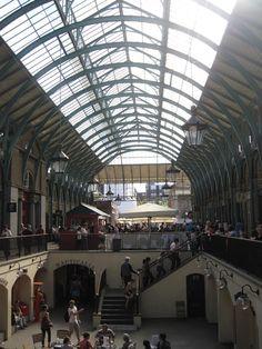 Caminaat de Trafalgar Square a Covent Garden. Londres