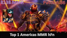 Don''t Let Ember Fat - Top 1 Americas MMR hFn plays Ember spirit