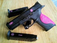 love the grip!!  pink 9Mm Gun | Pink Backstrap for M&P 9mm - MP-Pistol Forum