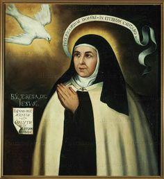 Santa María, Madre de Dios y Madre nuestra: Santa Teresa de Jesús, 15 Octubre