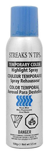 Highlight Spray Neon Blue 3.5 oz * See this great product. (This is an Amazon affiliate link)