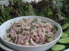 Larb Gai (Thai dish)