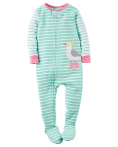 1-Piece Snug Fit Cotton PJs (Toddler)