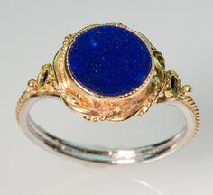 Starry Night Lapis Ring by FernandoJewelry on Etsy, $535.00