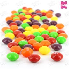 SKITTLES FRUITS 1600 GRS