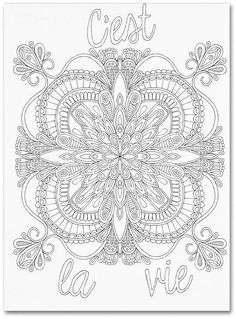 Trademark Global Hello Angel Inspirational Quotes 9 Canvas Art - 11 x 11 x Coloring Canvas, Black And White Lines, Mandala Coloring Pages, Book Of Shadows, Repeating Patterns, Art Reproductions, Baby Shop, Line Art, Kids Room