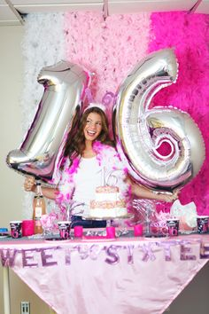 Check out our sweet 16 collection online! We have amazing decor, accessories, outfits, and more at great prices! #sweet16 #sweet16party #16thbirthday