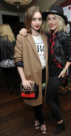 Get Lily Collins look for less!!