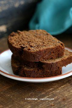 Vegan Chocolate Pumpkin Cake and Cake Mix In a Jar . One Bowl Chocolate Pumpkin Loaf - Vegan Richa