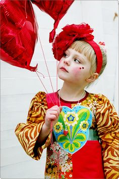Strawberry flavour dress, handmade