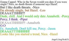 Jason and Percy the best bromance in town