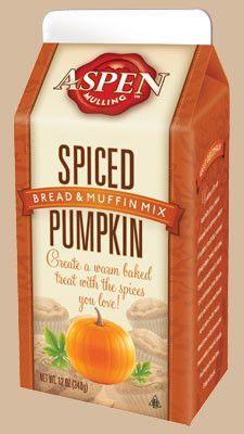 Aspen Spiced Pumpkin, Bread & Muffin Mix