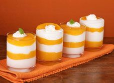 Kid Healthy Snack: Peaches and Cream Parfait | Kid Healthy Snack