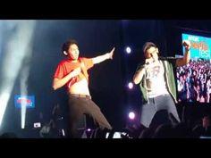 Fernanfloo y Bambiel Cantan el Rap de Fernanfloo En Vivo | Entel Media F...